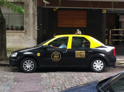 Foto de taxi de Buenos Aires