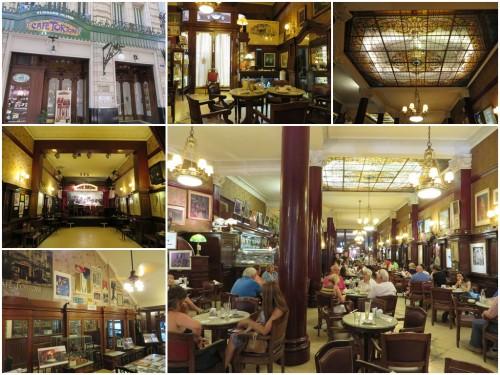 Foto montagem do Café Tortoni