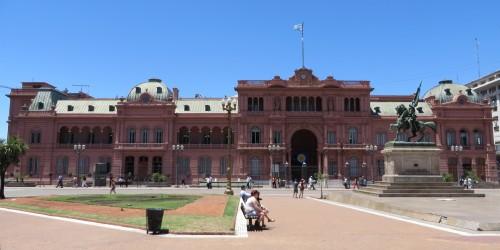 Foto da Casa Rosada